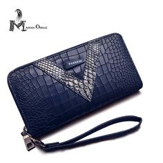 Newly made Leather wallet fe...  Marco Tricca Handbags Store  comments are welcome  http://bestitem.co/products/leather-wallet-female-long-wallet-wrist-clutch-bag-ladies-wallet-purse-fashion-pu-wallet-crocodile?utm_campaign=social_autopilot&utm_source=pin&utm_medium=pin