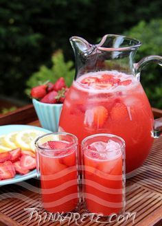Strawberry Lemonade Recipe by Thinkarete, via Flickr