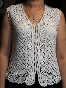 Crochet vest | Free Crochet Patterns