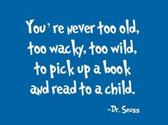 Reading to your child opens up a whole new world of fun and adventure.