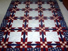 red white and blue quilts | Even our beginning sewers can m ake a difference!
