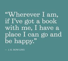 Wise words, Ms. Rowling