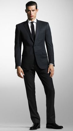 Ralph Lauren Black Label Mens Suit Design