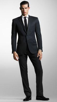 Ralph Lauren Black Label Mens Suit Design