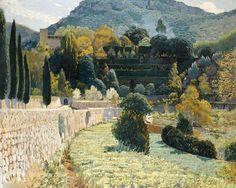 Santiago_Rusinol_Terraced_Garden_in_Mallorca_1904