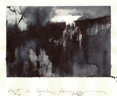 Nathan Fowkes Land Sketch: Tonal Studies in Ink