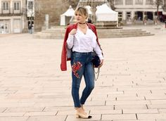 Coco and Jeans: Look: taking the ruffles