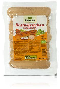 Alnatura Bratwürstchen vegetarisch