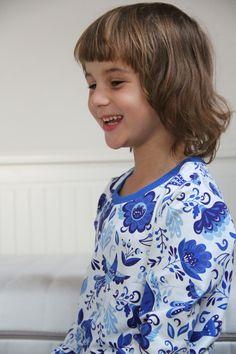 Sewing pattern for kids pyjamas.
