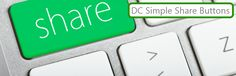 The DC simple share buttons is a plugin created by Don Caprio of Geek.NG to aid wordpress bloggers easily showcase very simple and customizable lightweight social buttons on their blog.