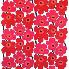 Classic Flower Pattern - Finnish fabric designer Marimekko