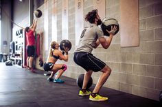 The wall ball is a staple CrossFit exercise and is a highly functional way to develop your cardio-respiratory system while at the same time strengthening...