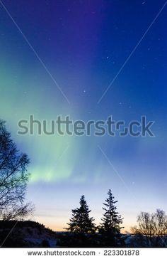Aurora Dawn 2 - stock photo