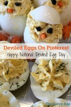Celebrate deviled egg recipes on Pinterest with 50 plus recipes.