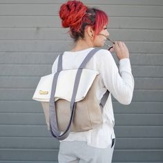 """One of our best sellers.❤️ Get it by FREE SHIPPING WORLDWIDE on BaggyBagShop.\n\n#bestseller #backtoschool #backpack #totebag #convertiblebag #etsy #etsyshop #baggybagshop #handmade #ethicalfashion #sustainable #freeshipping #sustainable #craftingthefuture"""