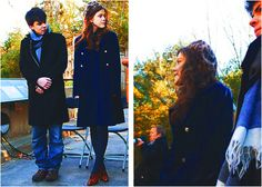 Georgie Henley oufit at the Lion Cub Naming Ceremony in Smithsonian National Zoo, Washington on December 9, 2010.