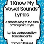 "Hi!  These lyrics were written by Tamara Russell and myself. We wrote them to an instrumental version of ""Gangnam Style"" to help our first grade st..."