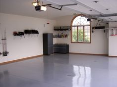 Our ArmorPoxy epoxy coating is perfect for garage flooring as it's one of the most durable and toughest flooring coatings. Grab your garage floor epoxy kit today. Epoxy Garage Floor Paint, Painted Garage Walls, Garage Floor Coatings, Garage Floor Epoxy, Epoxy Floor, Painted Floors, Painted Garage Interior, Garage Color Ideas, Garage Paint Colors
