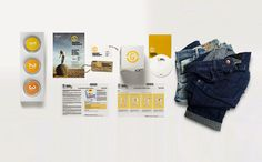 Logo and press kit - Denim therapy on Behance
