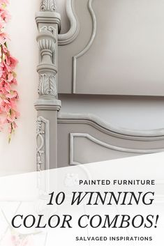 I get a TON of questions asking what colors go together, so today I'm sharing 10 of my favorites combos' that I've used -- and a few others that I've seen used, and absolutely love! Refurbished Furniture, Furniture Makeover, Diy Furniture, Salvaged Furniture, Restoring Furniture, Furniture Design, Dresser Makeovers, Cottage Furniture, Chair Makeover