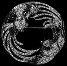 Boucheron diamond pin -- The Duchess of Windsor