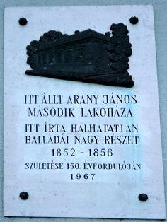 Arany János második lakóhelye emléktábla (Nagykőrös) http://www.turabazis.hu/latnivalok_ismerteto_5282 #latnivalo #nagykoros #turabazis #hungary #magyarorszag #travel #tura #turista #kirandulas