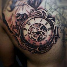 200 Popular Pocket Watch Tattoo Designs & Meanings - cheap men watches, watch websites, rose gold and black mens watch *sponsored https://www.pinterest.com/watches_watch/ https://www.pinterest.com/explore/watch/ https://www.pinterest.com/watches_watch/invicta-watches/ http://www.ablogtowatch.com/watch-brands/