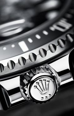 The winding crown is protected by a crown guard that is an integral part of the middle case. Fitted with the Triplock triple waterproofness system, the crown screws down securely against the case, providing watertight security akin to a submarine's hatch. Fitness Watches For Women, Best Watches For Men, Luxury Watches For Men, Cool Watches, Fossil Watches, Rolex Watches, Wrist Watches, Watches Photography, Sea Dweller