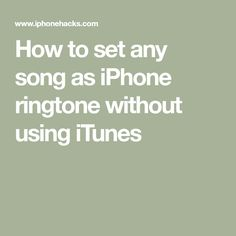Learn how to create, trim, and set any song as custom iPhone ringtone directly on your device without iTunes or needing a computer. Life Hacks Computer, Iphone Life Hacks, Cell Phone Hacks, Smartphone Hacks, Computer Help, Computer Tips, Ringtones For Iphone, Iphone Ringtone, Best Ringtones