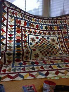 Guute's antieke quilt, in wording