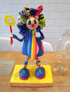 Foamy clown