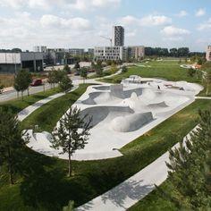 The Sports Park, Bremen by WES Landscape Architecture
