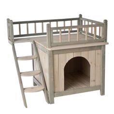 Domek dla kota z legowiskiem Prince