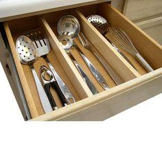 Natural Kitchen Drawer Dividers