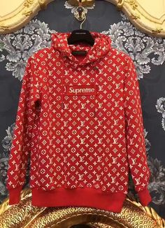 Supreme x Lv hoodies