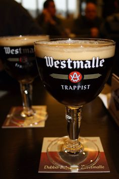 Westmalle Trappist #craftier #beer http://hopsaboutbeer.com/ Probably my favorite Double