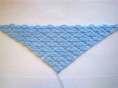 Вязание крючком шали для начинающих