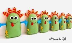 monstros - Mimos da Gil