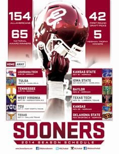 Changes were recently made to the 2014 schedule http://www.soonersports.com/ViewArticle.dbml?DB_OEM_ID=31000&ATCLID=209393963