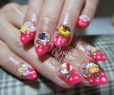 Candy and pastry nails