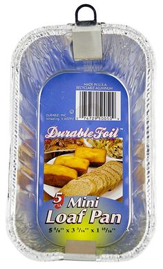 Durable Foil 6 Aluminum Mini Loaf Pan 12 Pack 5 60 Pans * You can find out more details at the affiliate link of the image. Mini Loaf Pan, Best Pans, Casserole Pan, Aluminum Pans, Baking Pans, Minion, Cleaning Supplies, Champagne, Minions