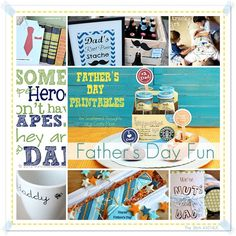 Father's Day Gifts and Ideas... Just for him! #Father'sDay