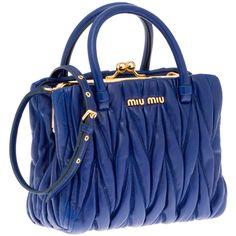 Miu Miu Mini Bag ($1,150) ❤ liked on Polyvore featuring bags, handbags, borse, bolsas, purses, women, quilted handbags, handbags purses, mini bag and mini hand bags