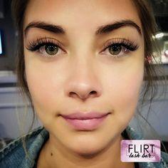 www.flirtlashbars.com Eyelash Extensions Flirt Lash Bar Long Beach CA Classic Lashes Volume 3D Lashes