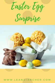Delicious Rice Crispie Easter Eggs with a surprise inside! Hoppy Easter, Easter Eggs, My Recipes, Snack Recipes, Easy Easter Recipes, Rice Crispy Treats, Egg Shape, Easter Treats, Food To Make