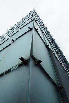 Kunsthaus Bregenz (KUB), Austria by Swiss architect Peter Zumthor (1997)