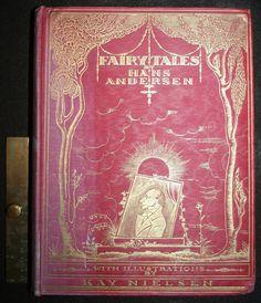 ... Tales Hans Christian Andersen KAY NIELSEN 12 Tipped-in Illustrations Lots more vintage goodies at vintagebookillustrations.com