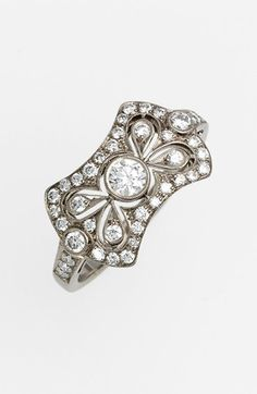 Kwiat 'Vintage - Bow Tie' Diamond Ring available at #Nordstrom