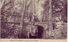 baños de archena - un puente en el parque - cliche acosta - Foto 1