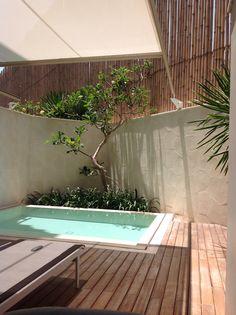 Double six hotel bali plunge pool